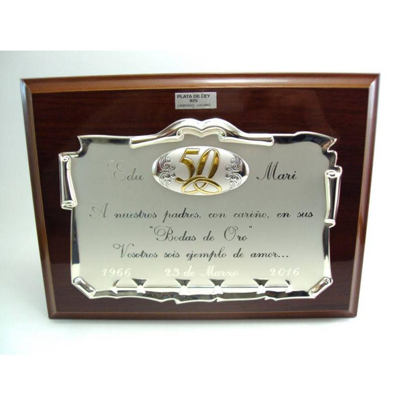 Nuestras bodas de oro detalles momparler 1870 for Detalles de aniversario de bodas