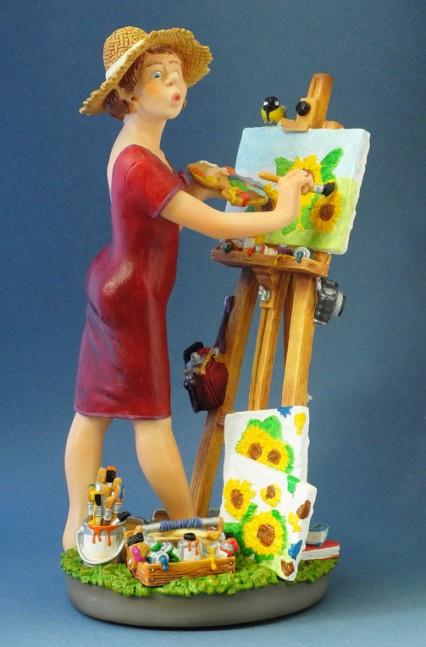 la-pintora