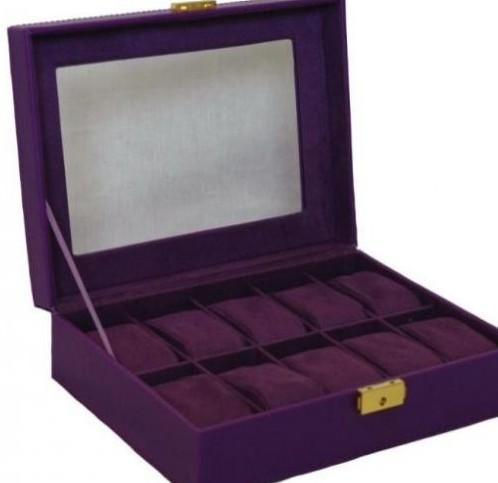 caja-relojes-polipiel-morado